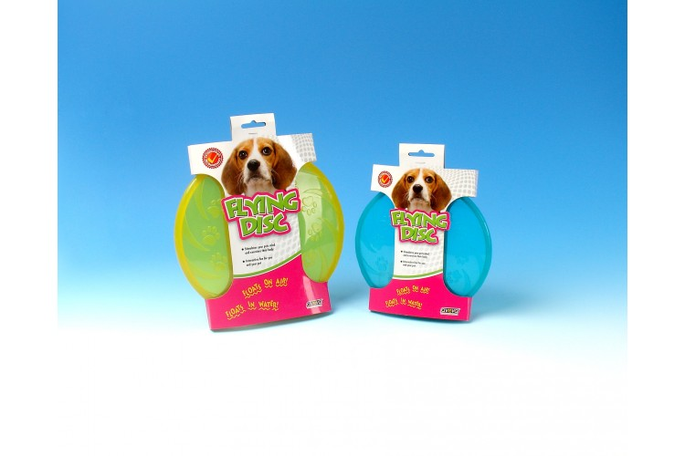 TPR Floating Paw-Prints Flying Disc