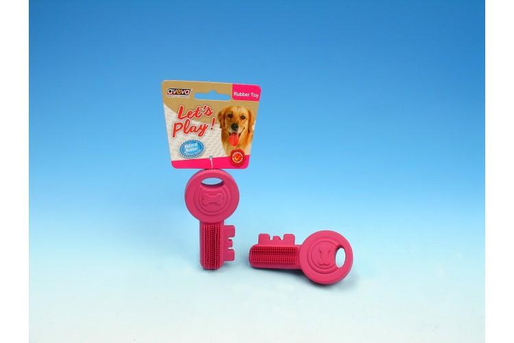 "RT/3020TG Rubber Puppy Teething Key - 3.75"""