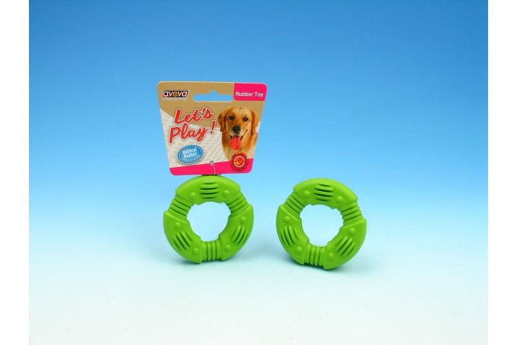 """RT/3025TG Rubber Puppy Teething O-Ring - 3.0"""""""