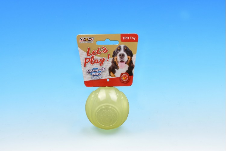 DC/2021TG TPR Moonglow Squeaky Tennis Ball - 6.3cm